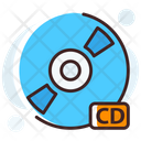 Cd Compact Disk Dvd Icon