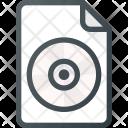 Cd Music File Icon
