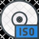 Cd Storage Iso Icon