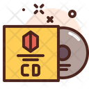 Cd Cover Print Icon