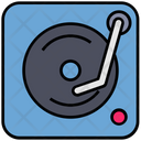 Summer Music Cd Player Icon