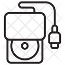 Portable Cd Rom Cd Icon