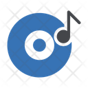 Cd Music Melody Icon