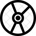 Cd Rom Disk Rom Rom Icon