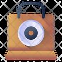 Cd Bag Disc Bag Cd Shopping Icon