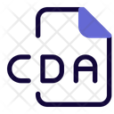 Cda File Audio File Audio Format Icon