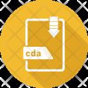 Cda File Format Icon
