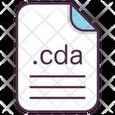 Cda File Document Icon