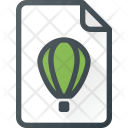 Cdr Draw File Icon