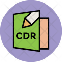 Cdr File Document Icon