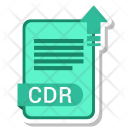 Cdr Extension File Icon
