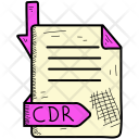 Cdr Document Format Icon