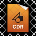 Cdr Corel Draw Icon