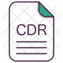 Cdr Corel Design Icon