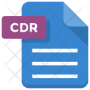 Cdr File Paper Icon