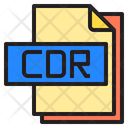 Cdr File Format Type Icon