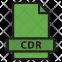 Cdr Coreldraw Format Icon