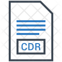 Cdr Document File Icon