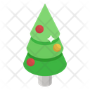 Christmas Tree Evergreen Tree Conifer Icon