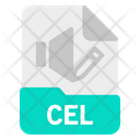Cel File Document Icon