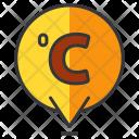 Celcius Degree Temperature Icon