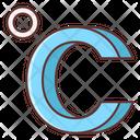Celcius Climate Forecast Icon