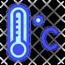 Celcius Cloud Weather Icon