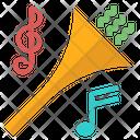 Horn Music Celebration Icon