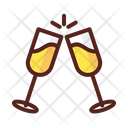 Celebration Drinks Party Icon