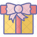 Celebration Giftbox Greeting Icon