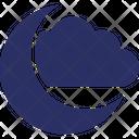 Celebration Halloween Moon Icon