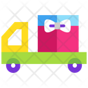 Celebration Delivery Van Delivery Truck Icon