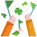 Arm St Patrick Day Hand Icon