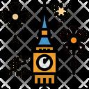 Celebration Clock Tower Icon