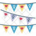 Celebration Decorative Feminism Icon