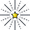 Fireworks Celebration Star Icon