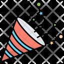 Celebration Confetti Festival Icon