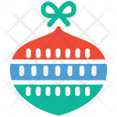 Celebration Bauble Decoration Icon