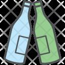 Celebration Bottles Wine Icon
