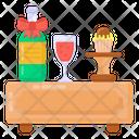 Wine Celebration Drink Alcohol Icon