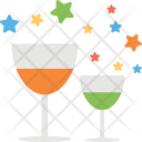 Celebration Drink Beverage Icon