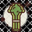Celery Organic Vegetarian Icon