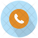 Phone Symbol Of An Auricular Inside Phone Cell Icon