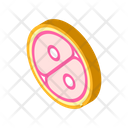 Cell Division Isometric Icon
