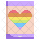 Cell Phone Lgbt Icon