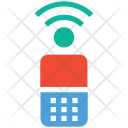 Cell Phone Communication Icon