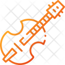 Cello Guitar Musical Instrument Icon