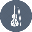 Cello Fiddle String Instrument Icon