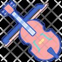Cello Bow Music Icon