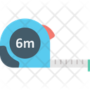 Cellophane Tape Meter Tape Scale Icon